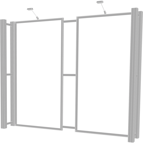 Hybrid Pro 10ft Modular Backwall Kit 05
