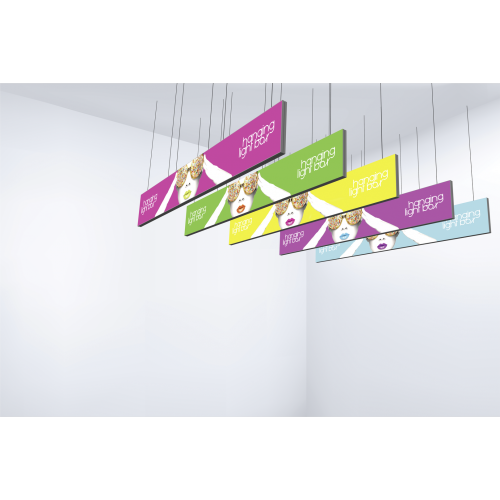 Vector Frame Hanging Light Box 40ft x 5ft